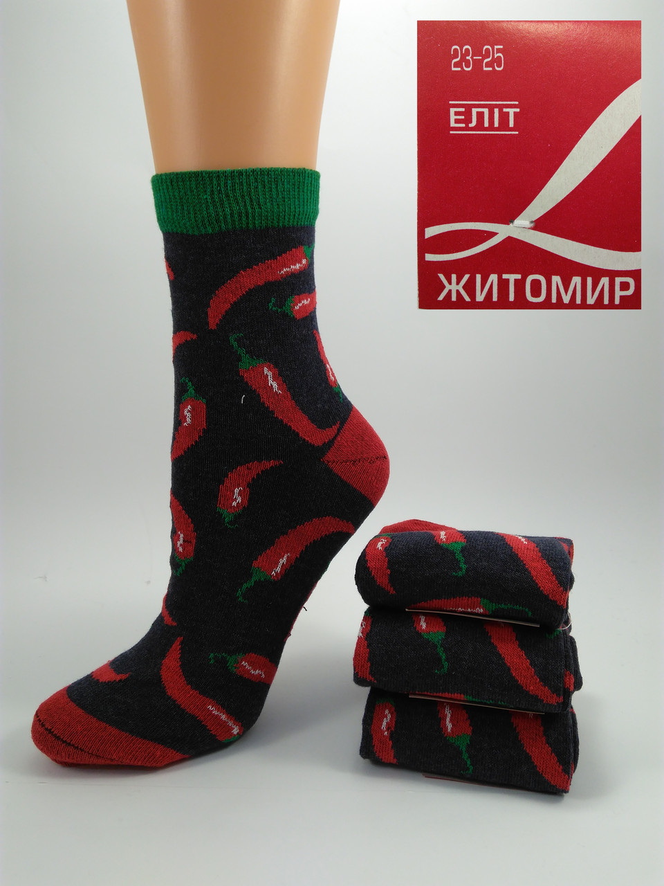 Женские носки Перец