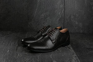 Туфли Bonis 82 (весна/осень, мужские, натуральная кожа, коричневый)