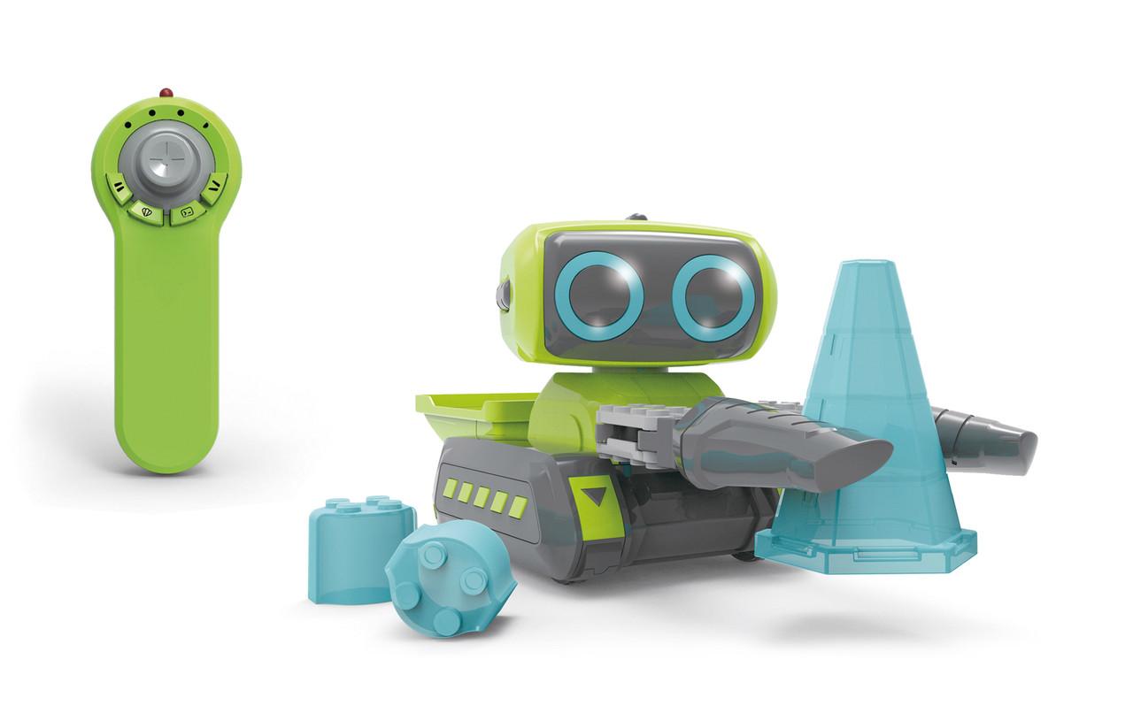"""Дитячий набір JIABAILE Construction Team """"Будівельна команда"""" з роботом на р/к Зелений (SUN3671)"""