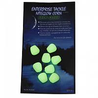 Искусственная плавающая кукуруза Enterprise Tackle Niteglow Sweetcorn Neon Green (зеленый неон)
