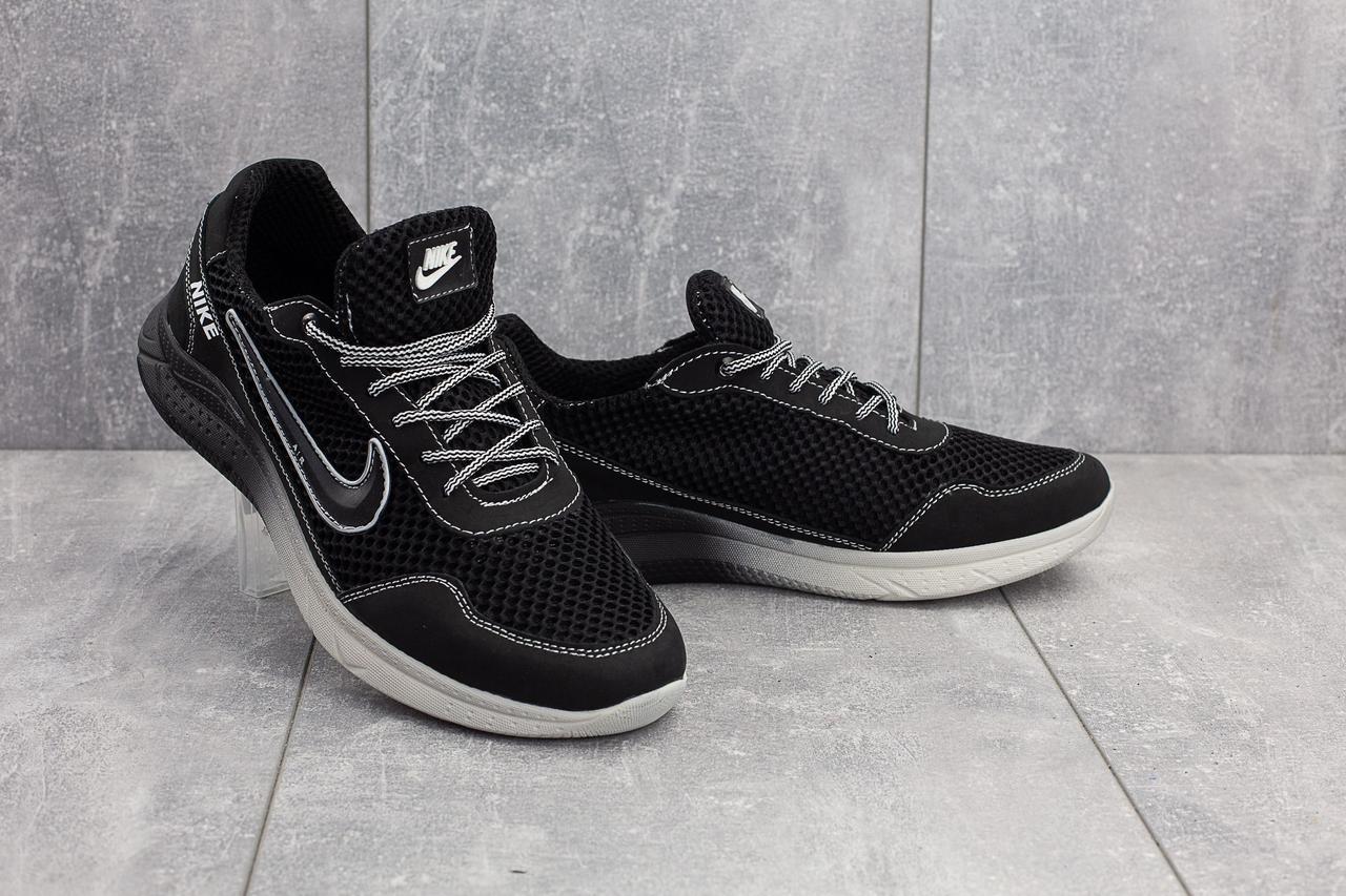 Мужские кроссовки текстильные летние черные CrosSAV 22