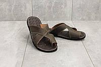 Шлепанцы Bonis Original 33 (лето, мужские, натуральная кожа, коричневый), фото 1