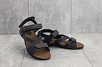 Босоножки StepWey 7561 (лето, женские, натуральная кожа, синий), фото 1