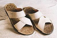 Шлепанцы Bonis Original 27 (лето, мужские, натуральная кожа, оливковый), фото 1