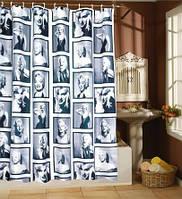 Шторка для душа ванной Мерлин Монро, фото 1