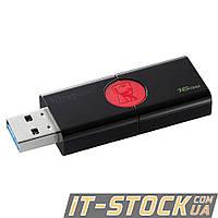 USB Flash 16GB Kingston DataTraveler 106 (DT106/16GB) Black/Red