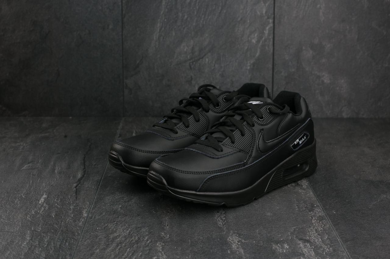 Кроссовки G 5056 -6 (Nike AirMax ) (весна/осень, мужские, искусственная кожа, черный)