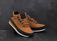 Кроссовки АМ 801 -5 (New Balance 754) (зима, мужские, искусственная кожа, рыжий), фото 1