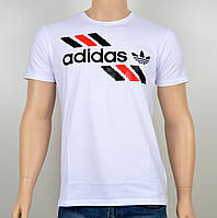 "Мужская футболка ""Adidas 1901"" белый, фото 1"