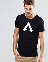Черная футболка Апекс Легенд Apex Legends