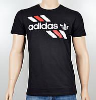 """Мужская футболка """"Adidas 1901"""" черный, фото 1"""