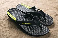 Шлепанцы Rider 11073-22696 (лето, мужские, резина, черный), фото 1
