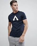 Темно синяя футболка игромана Апекс Легенд Apex Legends