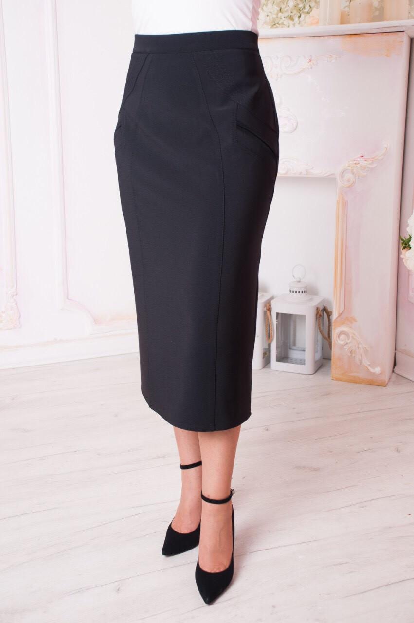 Женская юбка  больших размеров   Размер 64-70