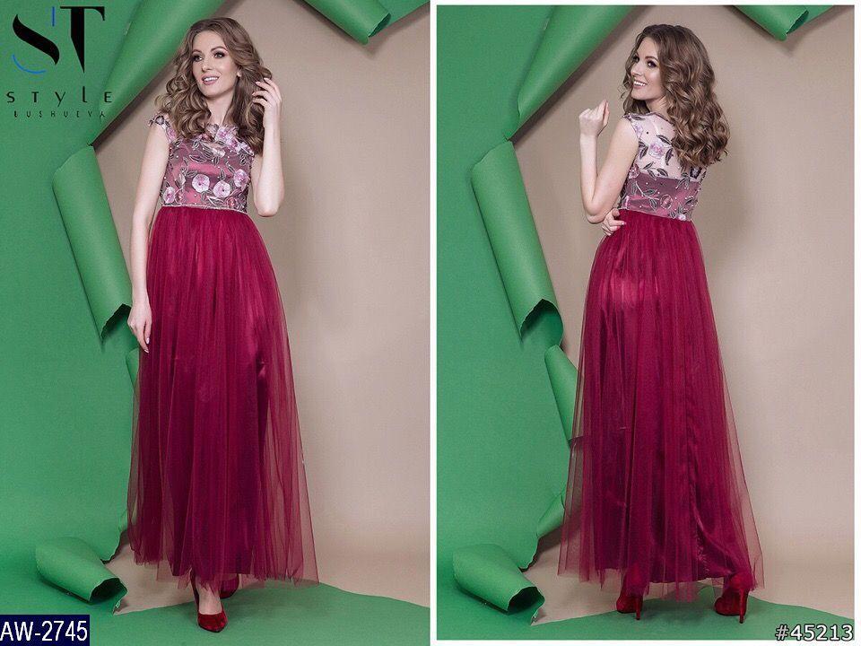 Платье AW-2745