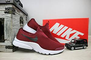 Кроссовки Classik G5004-1 (Nike AirMax)  (лето, мужские, текстиль, бордовый)