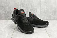 Кроссовки A 332 -1 (Nike Training) (весна/осень, мужские, замша, черный), фото 1