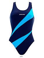 Спортивные купальники KOSTIUM KĄPIELOWY SESTO SENSO BW 729 Женская пляжная одежда Польша