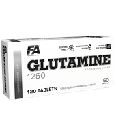 Супер глютамин FA Nutrition Glutamine 1250 120 tabs