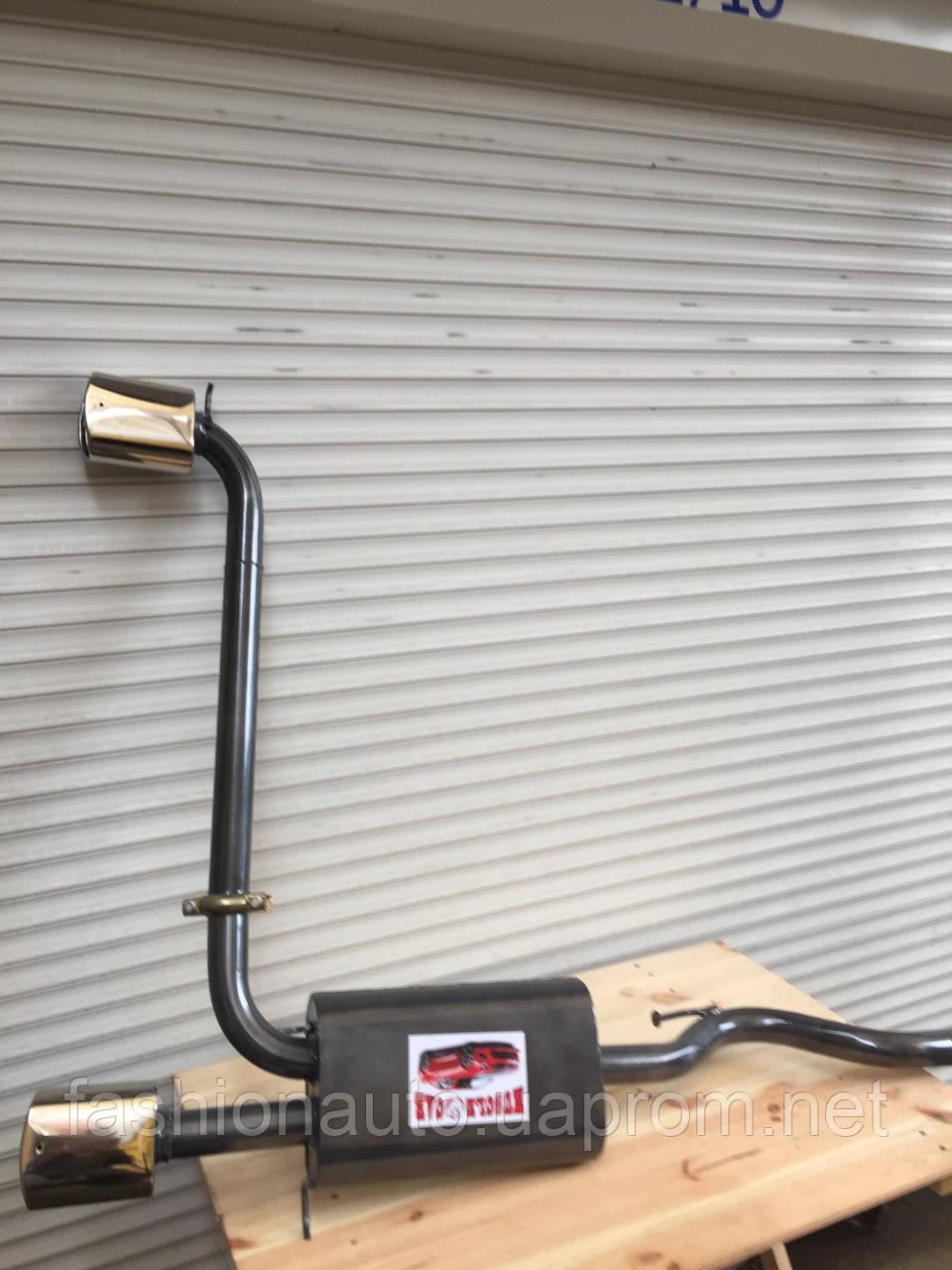Глушитель двойной раздвоенный Ваз 2108 ВАЗ 2109