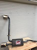 Глушитель двойной раздвоенный Ваз 2108 ВАЗ 2109, фото 1