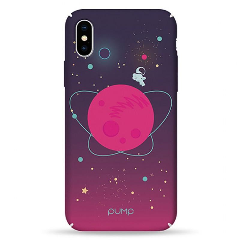 Pump Tender Touch Case чехол для iPhone X/XS Pink Space