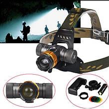 Налобный фонарь Bailong Police BL-806 T6/WD-295