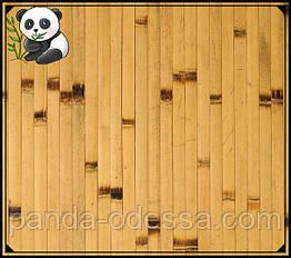 """Бамбуковые обои """"Березка"""", 0,9 м, ширина планки 17 мм / Бамбукові шпалери"""