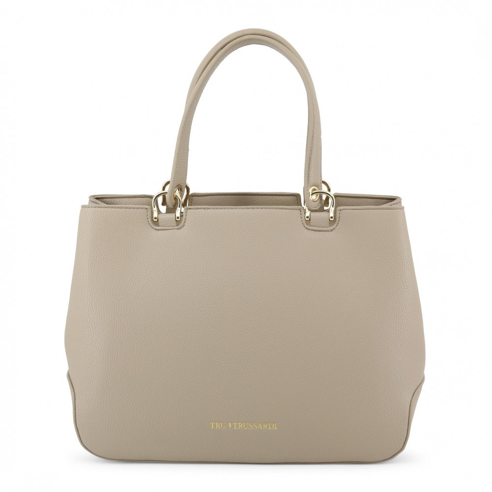 079e6e2170d5 Trussardi кожаная сумка белая - косметика&аксессуары