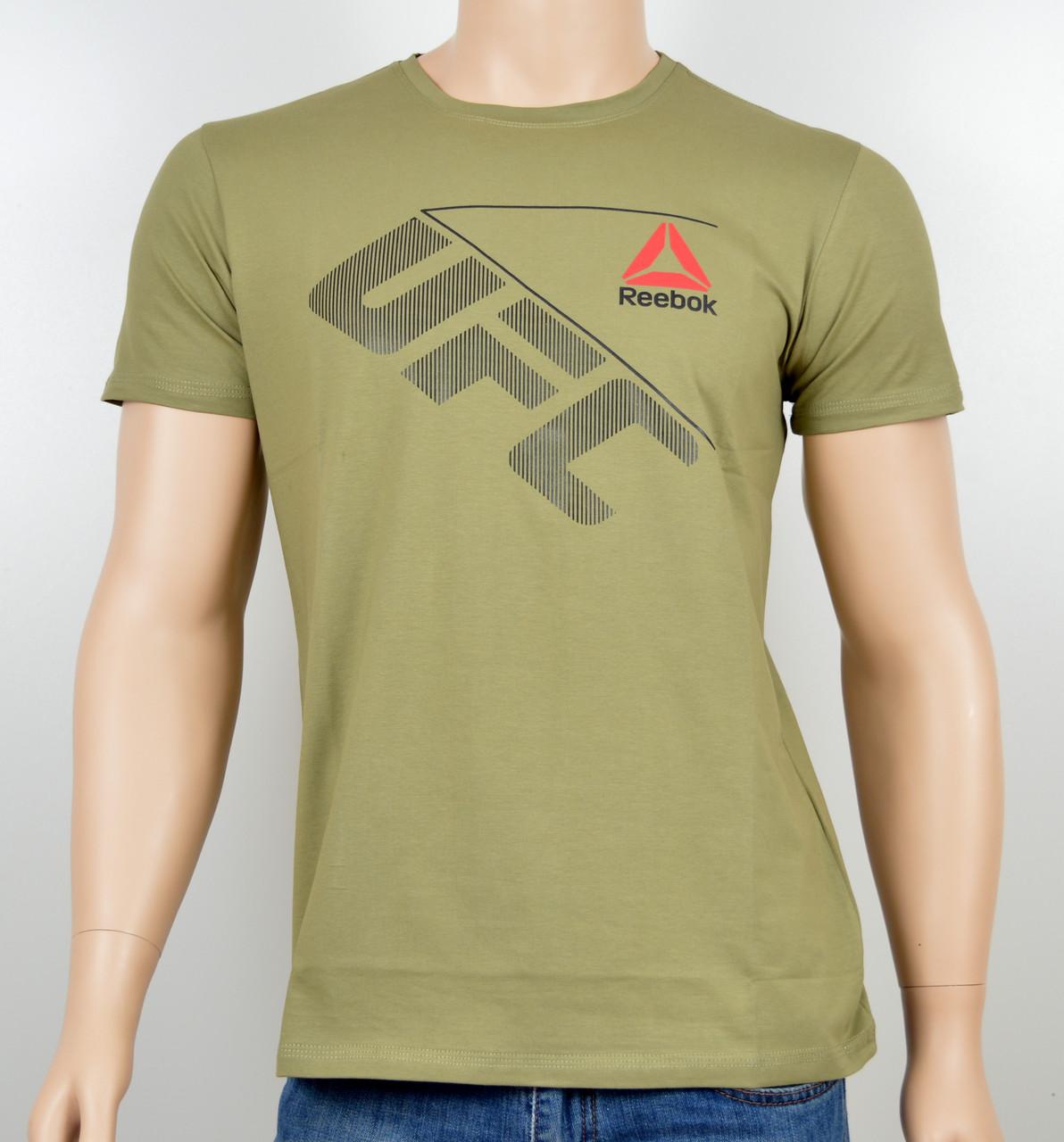 "Мужская футболка ""Reebok UFC"" R17-03 Хаки"
