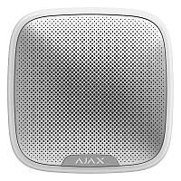 Ajax StreetSiren White беспроводная уличная сирена с антивандальной защитой