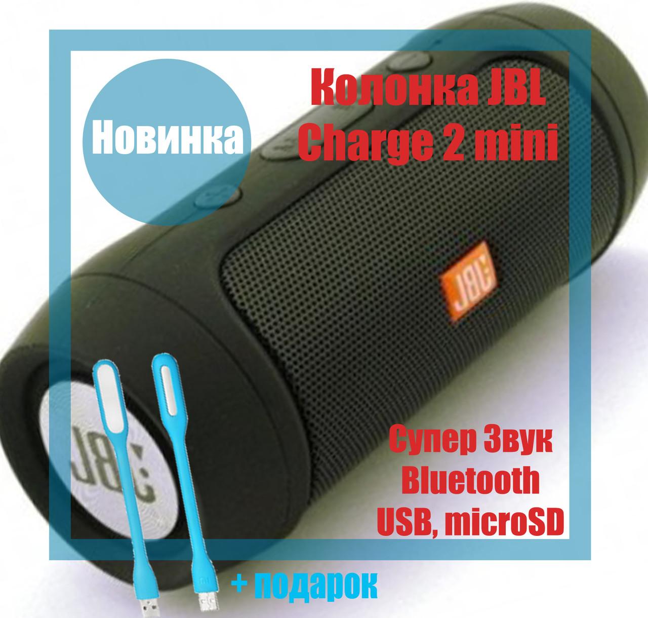 Колонка JBL Charge2 MINI Bluetooth , FM MP3 AUX USB microSD, влагозащита, Quality Replica