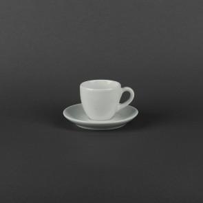 Чашка фарфоровая 80 мл с блюдцем 120мм Aida Lubiana 490