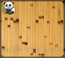 """Бамбуковые обои """"Березка"""", 1,5 м, ширина планки 17 мм / Бамбукові шпалери"""