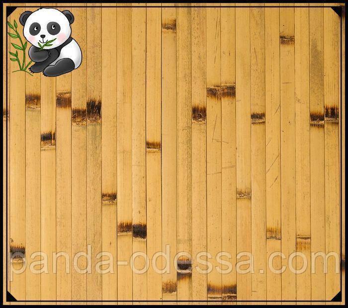 """Бамбуковые обои """"Березка"""", 2 м, ширина планки 17 мм / Бамбукові шпалери"""