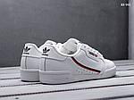 Чоловічі кросівки Adidas Continental 80 (білі), фото 3