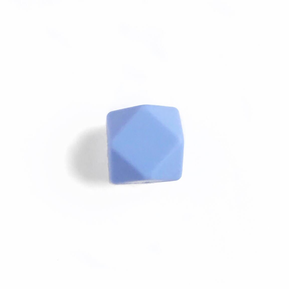 МИНИ гексагон (серенити) 14мм, силиконовая бусина