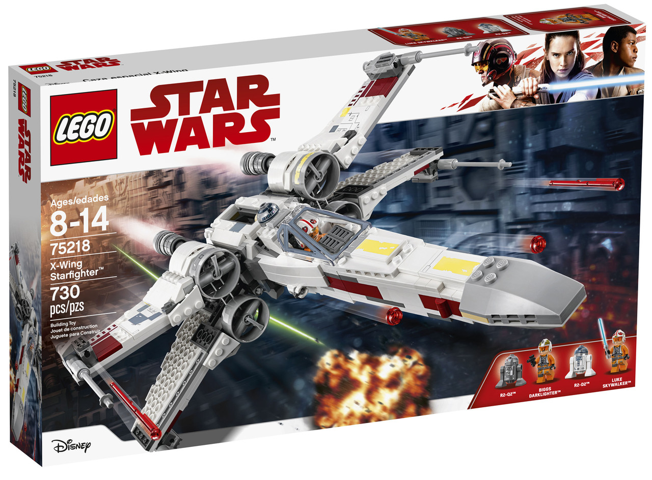 Lego Star Wars 75218 Зірковий винищувач X-Wing Starfighter™ (Истребитель X-Wing)