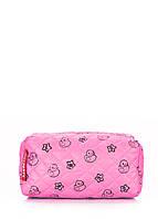 Розовая косметичка с уточками POOLPARTY, фото 1