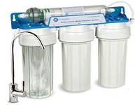 Проточные фильтры для воды, размещение под мойкой