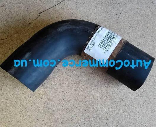 Патрубок радиатора нижний БАЗ А148., фото 2