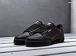 Мужские кроссовки Adidas Continental 80 (черные), фото 4