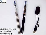 Электронные сигареты eVod 1100 mAh  варивольт+CE5 E-Turbo, фото 1