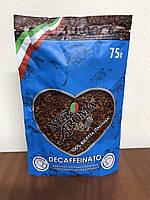Кофе растворимый без кофеина Nero Aroma Decaffeinato 75 гр.