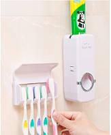 Автоматический дозатор зубной пасты и держатель щеток Touch me, фото 1