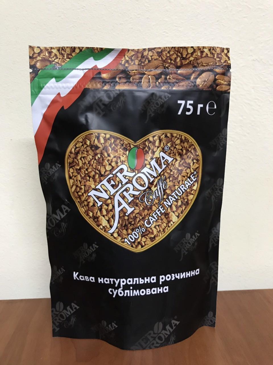 Кофе растворимый Nero Aroma 75 гр.