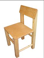 Деревянный стул детский