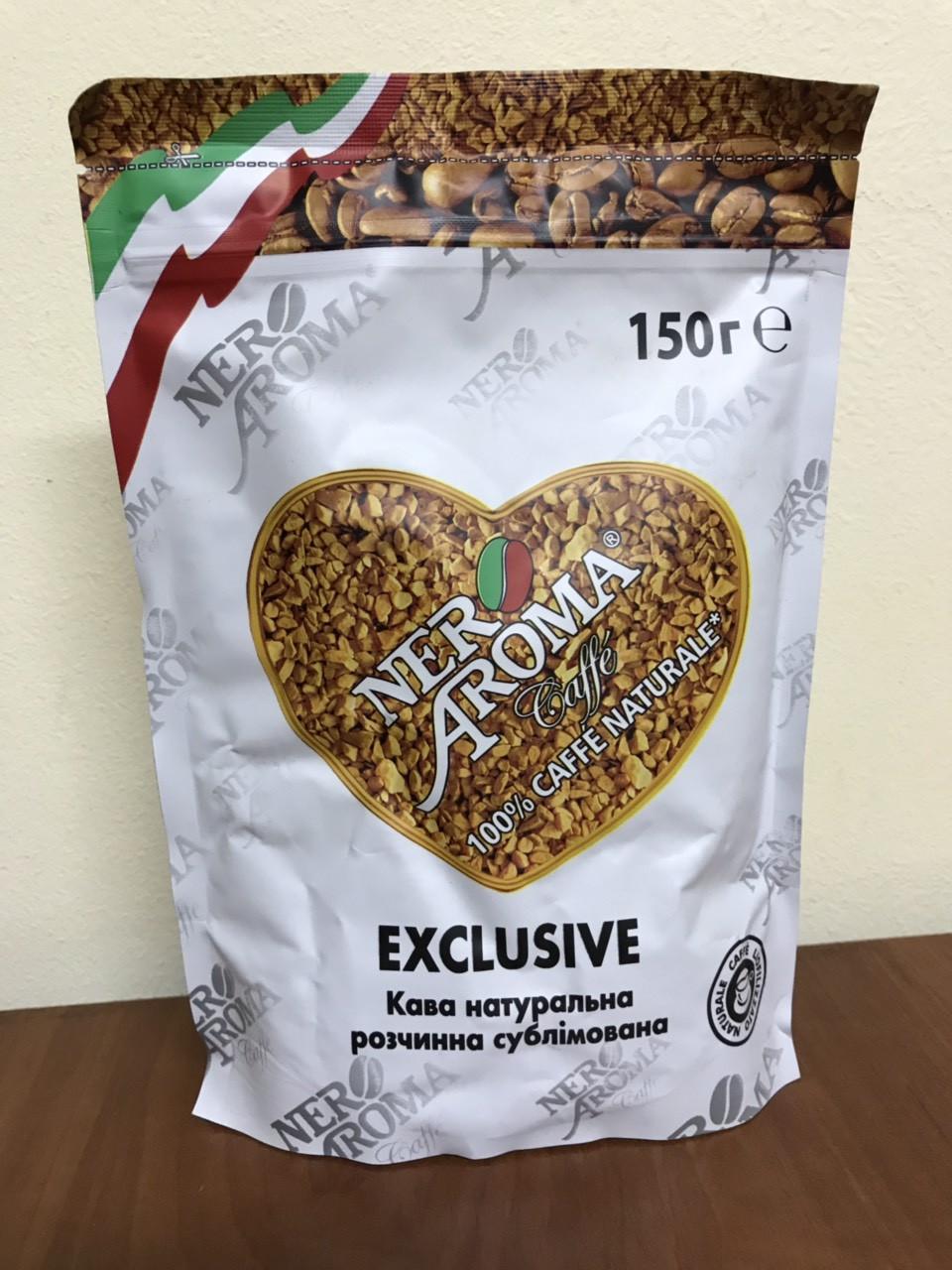 Кава розчинна Aroma Nero Exclusive 150 гр.