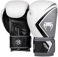 Боксерские перчатки Venum Contender 2.0 12 oz унций white/grey