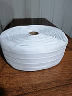Тесьма бантовая для штор, тюли (ширина 60 мм. моток 50 м)
